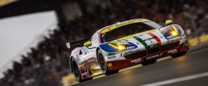 Car #71 / AF CORSE (ITA) / FERRARI 458 ITALIA / Davide RIGON (ITA) / James CALADO (GBR) / Olivier BERETTA (MCO) - Le Mans 24 Hours at Circuit Des 24 Heures - Le Mans - France